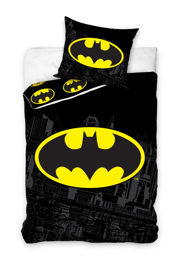 batman kinderbettw sche babybettw sche kinder bettw sche 140x200 160x200 cm ebay. Black Bedroom Furniture Sets. Home Design Ideas
