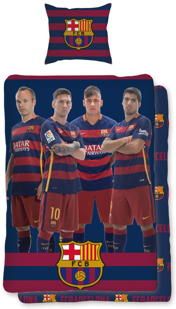 F tbol ropa de cama fc barcelona cama lino f tbol fcb fc - Ropa de cama barcelona ...