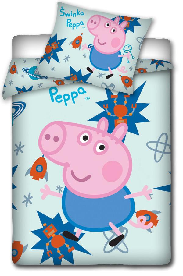 Peppa Pig Kinderbettwäsche Babybettwäsche Schweinchen Peppa 100 X