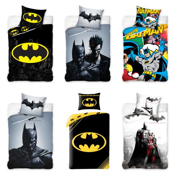 Batman Linge De Lit Pour Enfants Bebe Parure 140x200 160x200 Cm Ebay