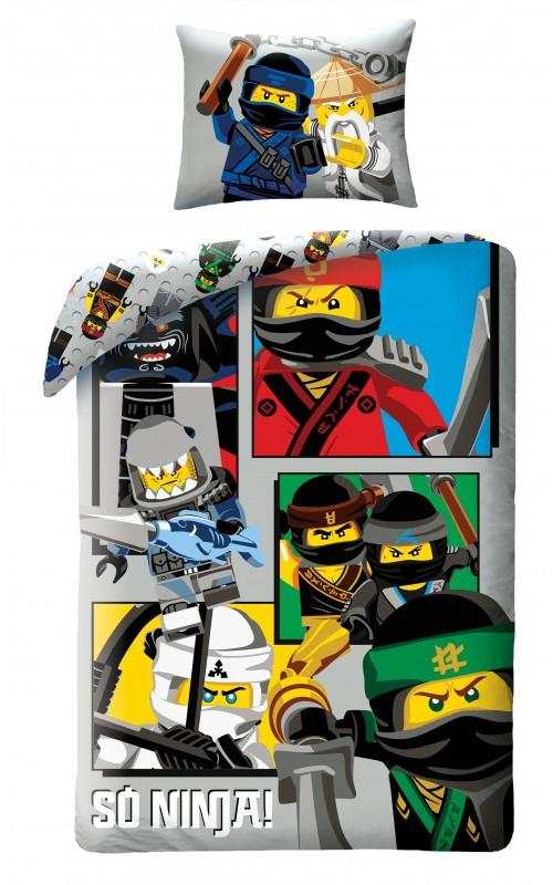 lego ninjago kinderbettw sche bettw sche leg611bl 140x200 cm 70x90 cm nicenico. Black Bedroom Furniture Sets. Home Design Ideas