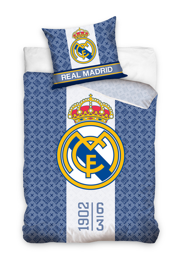 Football Bed Cover Real Madrid Bed Linen Football Ebay