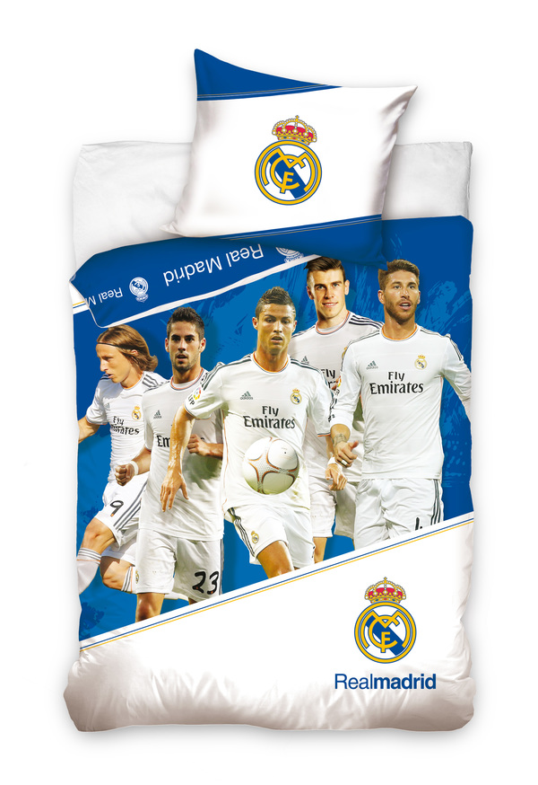 Football Bed Cover Real Madrid Bed Linen Football Ronaldo Bale