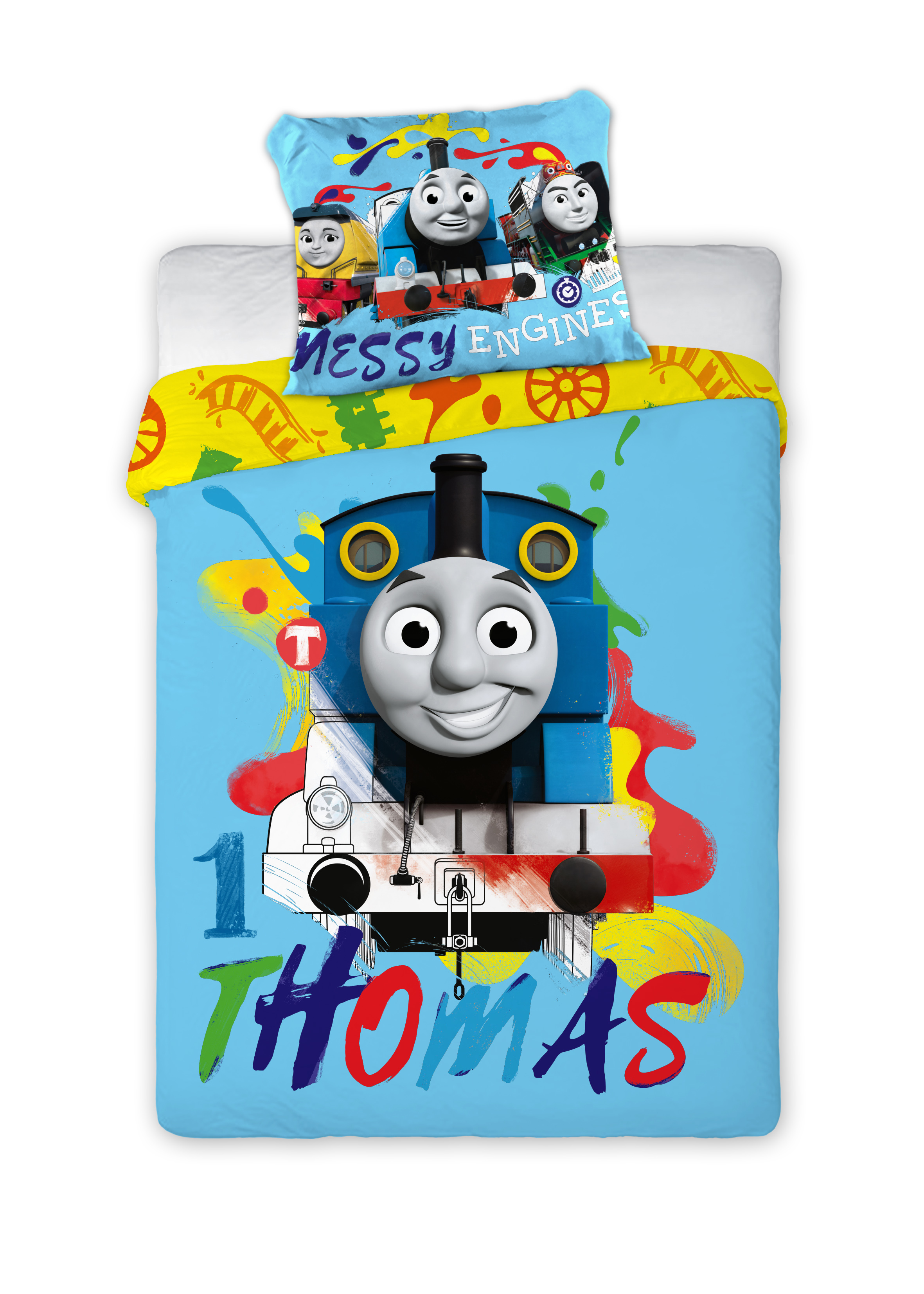 Thomas and Friends 024 Childrens Bedding Baby Bedding 100x135 cm 40x60 cm