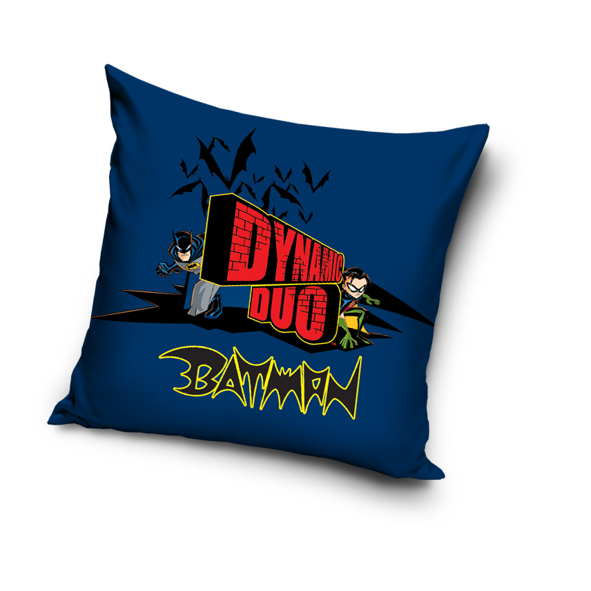 batman kissen pillow 40 x 40 cm ebay. Black Bedroom Furniture Sets. Home Design Ideas